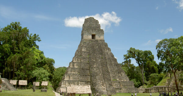 Explore the Mayan Pyramids of Guatemala - Mayan Pyramid Tikal