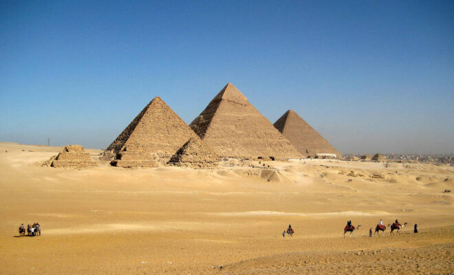 Enjoy A Holiday In Egypt - pyramids