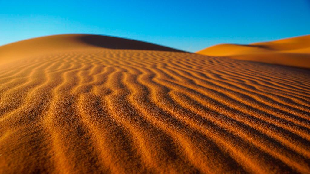 Morocco Desert Sand Dunes
