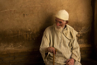 Portrait photo of a man - Marrakech