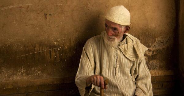 Portrait photo of a man - Marrakech