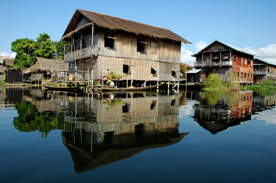 Floating Village at Inle Lake - Burma