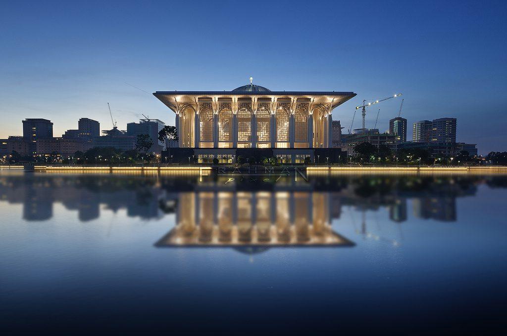 Iron Mosque, Putrajaya, Peninsular Malaysia.