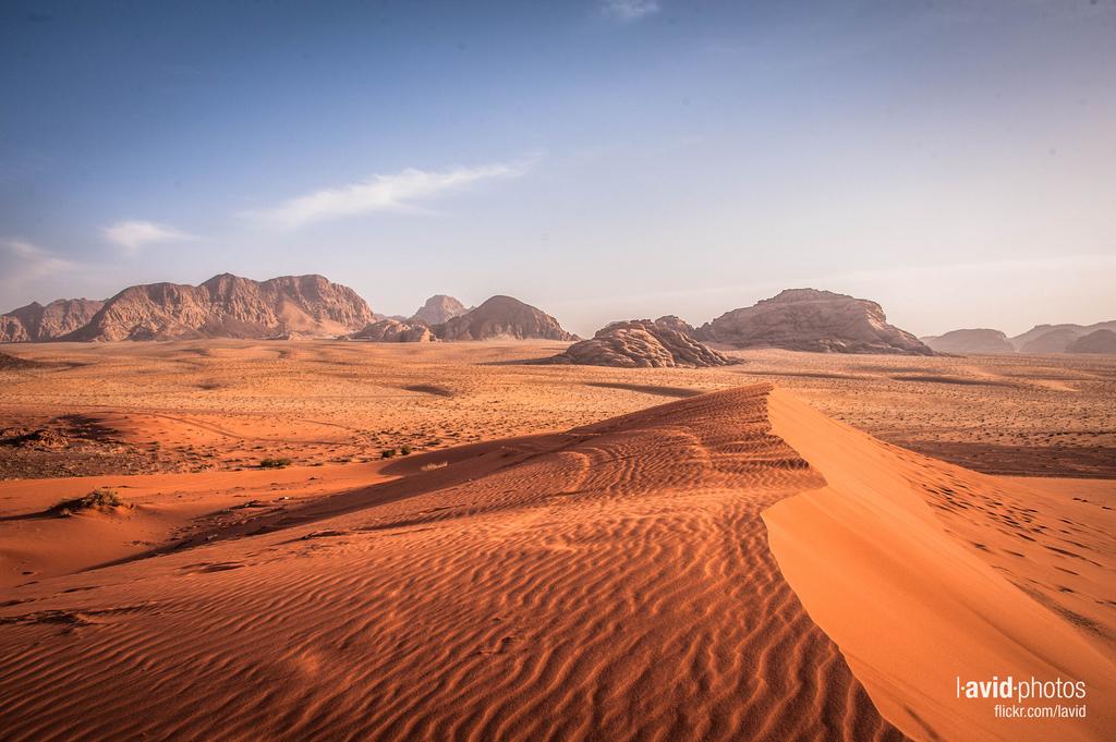 Experience a Jordanian trekking holiday - trekking the Wadi Rum