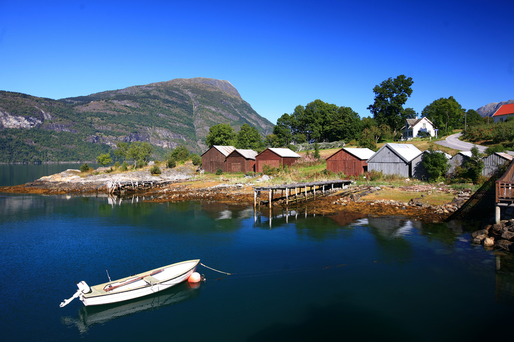 The Fjord at Ornes - Norway