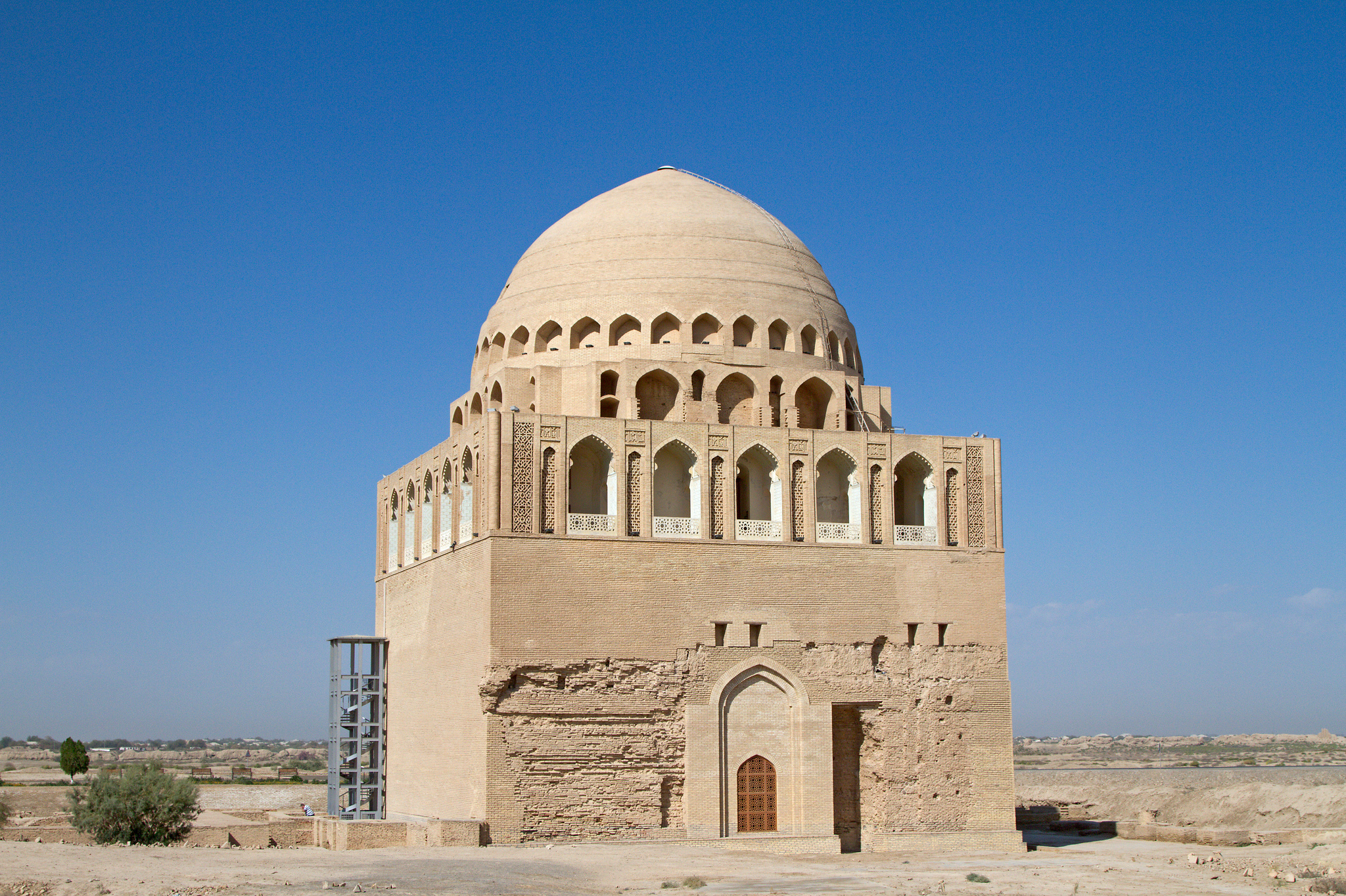 Sultan Eagle Silk Mausoleum in Merv